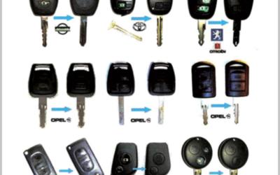 Κλειδιά αυτοκινήτου immobilizer - Κλειδαράς Γλυφάδας Σπανός