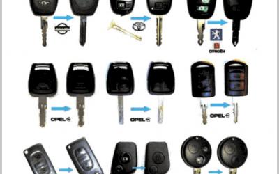 Κλειδιά αυτοκινήτου immobilizer - Κλειδαράς Γλυφάδα Σπανός